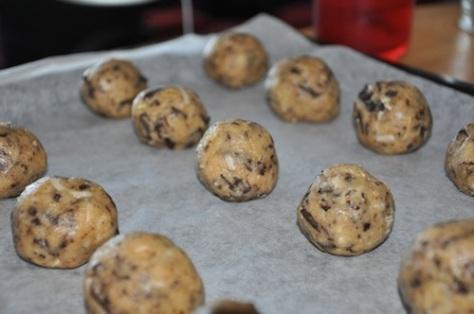 recette facile de cookies moelleux chocolat coco. Black Bedroom Furniture Sets. Home Design Ideas
